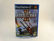 WWI ACES OF THE SKY SONY PS2 PLAYSTATION 2 PAL ITA ITALIANO ORIGINALE COMPLETO