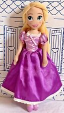 "Disney Store Rapunzel Plush Tangled Princess Doll Toy 11"" Purple Dress Stuffed"