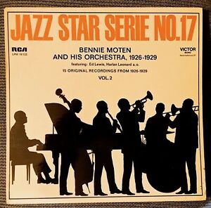 BENNIE MOTEN and his Orchestra 1926-1929, Vol. 2 - RCA Victor LPM-10122 (Germany
