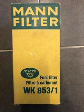 MANN-Filter BENZINFILTER KRAFTSTOFFFILTER WK853/1 Audi 80 90 100 Volkswagen