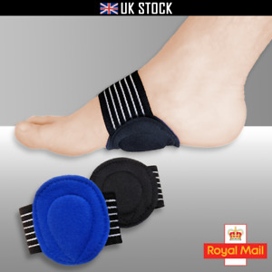Plantar Fasciitis FOOT ARCH SUPPORT Heel Pain Relief Pad Fallen Arches Cushion