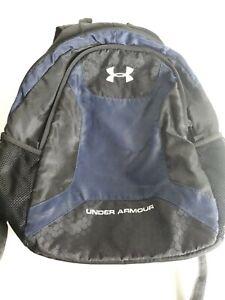 Little Boys Under Armour Backpack Bookbag Black/Blue