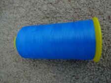 """Rod Building Wrapping Rice Size """"D"""" Ncp Light Blue 4oz spool thread #8053"""