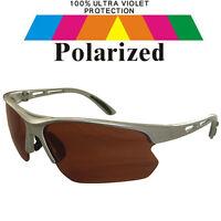 Polarized Polarised Lens Car Driving Fishing Sport Golf Sunglasses & Case POL728