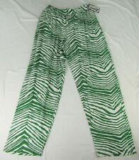 University of North Dakota NCAA Men's Drawstring Zebra Print Joggers
