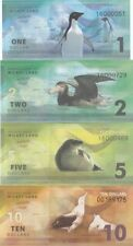 LOT 5 SETS Wilkes Land (Antarctica) 7 banknotes 2014 UNC (private issue)