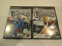 NBA Ballers & Ballers Phenom Ps2 Game in Very Good Condition W Manual Free Ship