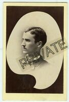 Cabinet Photo - Memorial - Parkersburg,West Virginia - Case Family Young Man-Geo