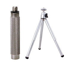 1/4 Expansion Screw Adapter+Tripod for Ricoh Theta S&M15/Samsung Gear/LG 360 Cam