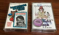 Jeff Foxworthy Lot Of 2 Cassette Tapes (1) Sealed & 1 Pre Owned & Tested Redneck