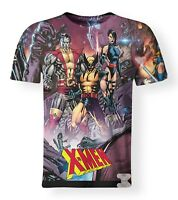 X-Men Stan Lee Marvel Comics Wolverine Superhero 3D Print T-Shirt Unisex S-7XL