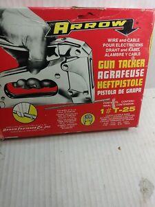 Arrow Fastener T25 Low Voltage Wire Staple Gun up to 1/4-Inch