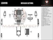 Fits Nissan Altima 2005-2006 Manual Trans NO Navigation Large Wood Dash Trim Kit