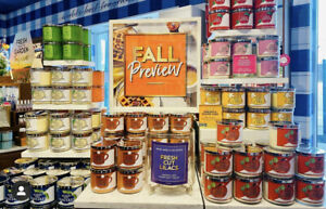 New Bath and Body Works 3 Wick Candle Autumn Fall 2021 Collection