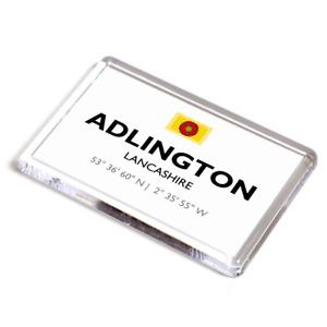 FRIDGE MAGNET - Adlington, Lancashire - Lat/Long SD6013