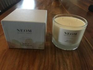 Neom Organics London Scent To Calm & Relax Candle 3 Wick 420g New