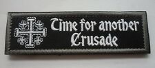 CROSS TEMPLAR CRUSADERS KNIGHTS CHRISTIAN Patches ARMY INSIGNIA  PATCH