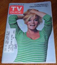1973 PITTSBURGH TV GUIDE~SEXY ANN MARGARET~BETTE DAVIS~NEAT ARTICLE'S AND AD'S