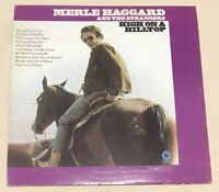 """Merle Haggard And The Strangers: High On A Hilltop, 12"""" Vinyl LP SF-709"""