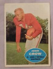 1960 Topps John Crow St Louis Cardinals #105 Football Card ex-mt