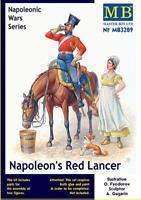 Master Box 3209 - Napoleon's Red Lancer Napoleonic Wars Series 1/32 scale