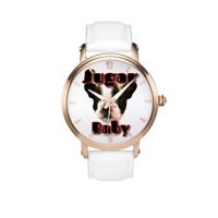 Boston Terrier Limited Edition Watch genuine leather strap