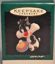 Hallmark - Baby Sylvester - Looney Toons - Miniature Ornament