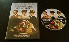E.M. Forster's Where Angels Fear To Tread (DVD, 2006) Helena Bonham-Carter OOP