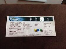 Biglietto Stadio Juventus - Galatasaray 02/10/13 Champions League