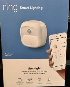 Ring Smart Lighting Step light Motion-Activated  , White