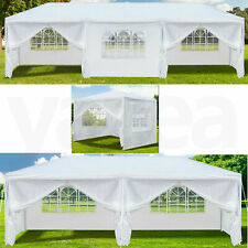 More details for 3x3/6/9m heavy duty gazebo marquee canopy waterproof garden patio party tent