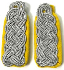 WWII GERMAN HEER SR. OFFICER TUNIC SHOULDER BOARDS-RECON, Aufklärungs
