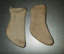 Vintage Reproduction Skipper//Barbie Dolls Short White Socks Mint Nylon
