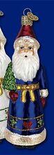 *Pennsylvania Dutch Santa - 2 Colors* [40215] Old World Christmas Ornament - NEW