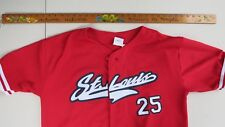 St Louis Cardinals Jersey Vtg Mark McGwire #25 Players Choice Red Mens Sz L