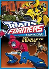 TRANSFORMERS ANIMATED COMPLETE 2007-2009 SERIES New 5 DVD [MISSING LAST DISC]