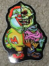 "MISHKA NYC Popaganda Clown Cyco Simon 3"" Skate Sticker Ron English decal"