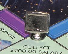Monopoly 2000 Millennium Edition Board Game Part: COMPUTER MONITOR Metal Token