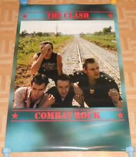 The Clash Combat Rock HUGE 1982 Original Promo Poster 48 x 32