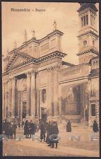 ALESSANDRIA CITTÀ 128 Cartolina viaggiata 1912