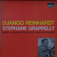 DJANGO REINHARDT/STEPHANE GRAPPELLY AVEC LE QUINTETTE DU HOT CLUB FRENCH LP