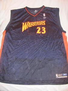 Men's Reebok Jason Richardson Golden State Warriors Jersey 23 Big & Tall 4XLT 4X