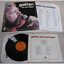 GAETAN DE COURREGES - En Public Rare French Xian Folk LP