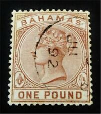 nystamps British Bahamas Stamp # 32 Used $80 Rare J15y2030