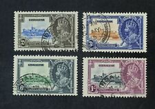 Ckstamps: Gb Stamps Collection Gibraltar Scott#100-103 Used