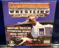 Insane Clown Posse - Backyard Wrestling Sampler CD esham twiztid anybody killa