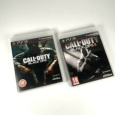 PS3 Call Of Duty Black Ops + Black Ops II ( Black Ops 2 )