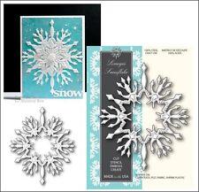 Limoges Snowflake metal die Memory Box cutting dies 98935 christmas winter snow