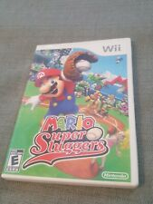 Mario Super Sluggers (Nintendo Wii, 2008) Complete with Manual/Tested