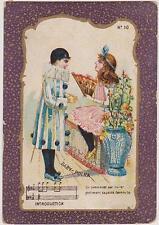 CHROMO ANCIEN PUBLICITAIRE CHICOREE/A LA BELLE JARDINIERE/C.BERIOT LILLE/POLKA